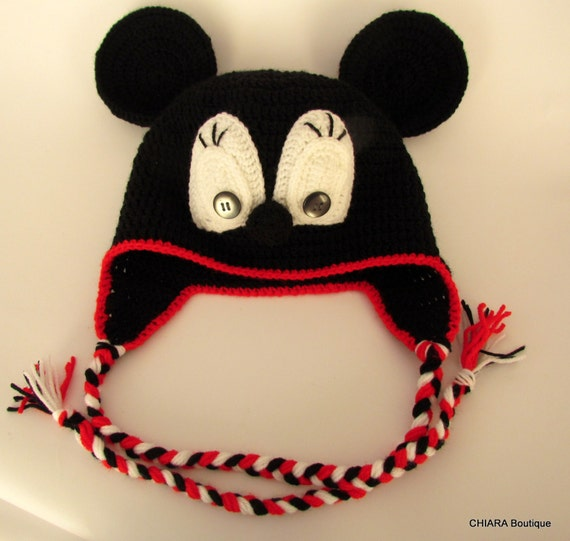 hat with earflaps hat Mickey Mouse 5d107a9c4c1