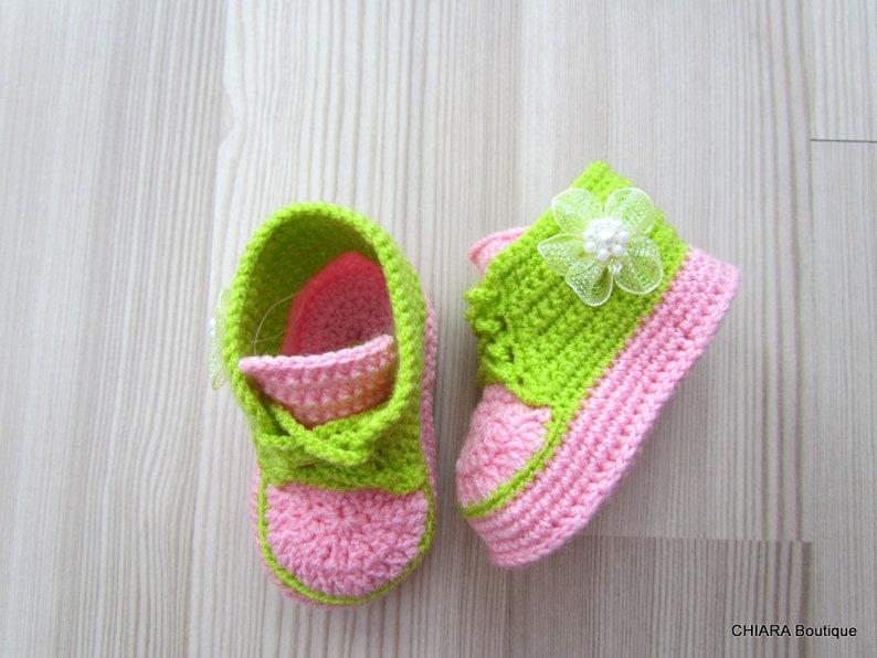 more photos c6bf5 08be2 Uncinetto babbucce neonato uncinetto, bambino scarpe, scarpette per  neonati, bambino scarpe, stivali, tricottati