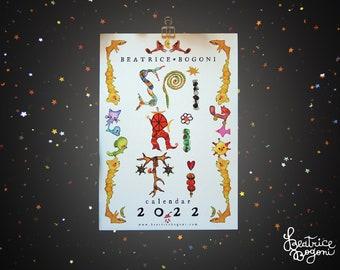 SPIRITI ⎯ Calendario 2022 ⎯ illustrazione ~ natura ~ spirito