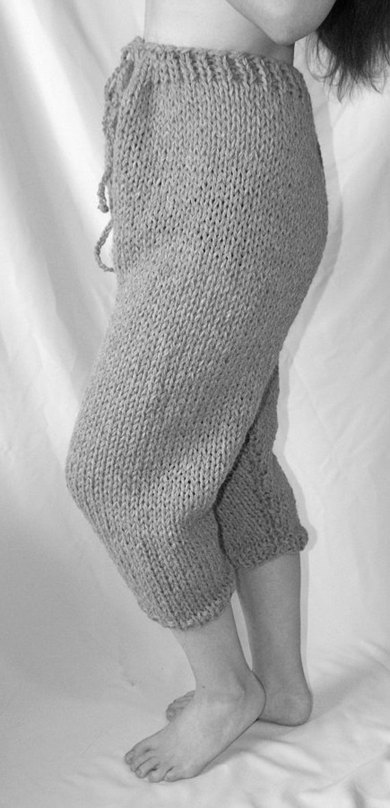 To order !!! Itchy and scratchy chunky knit slip shorts thick knit wool underwear for men pur wool knitwear hand knitted by Strickolino KeYDVTOWqp