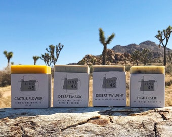 4-Pack Desert Soaps
