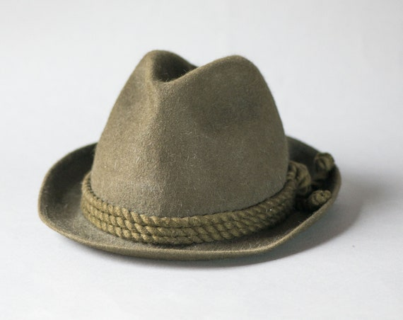 a24e61b6fab Men s Bavarian Hat Brown Felt. Mayser Unisex Panama Hat