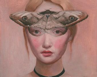 Moth Art Giclee Print
