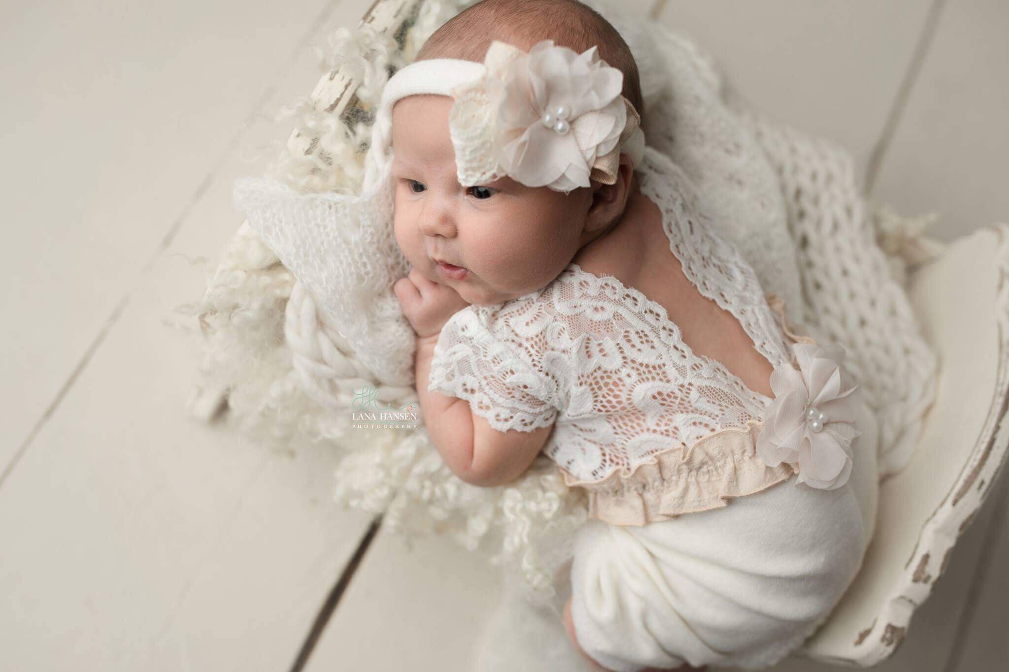 Newborn Photography Outfit Girl