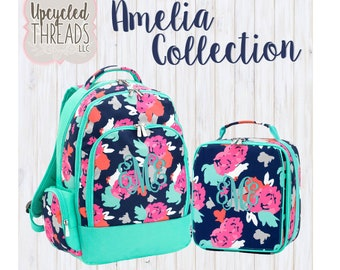 Monogrammed Backpack, Monogram Backpack, Custom Backpack, Girl s Backpack,  Cute Backpack, Monogrammed Lunchbox, Personalized Backpack, d9193b1ccc
