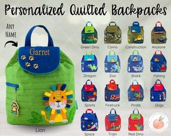 Boys Bags Birthday Present Gift Grandchild Name Bag Toddler Book Bag Preschool Backpack Kids Backpacks Personalized Bag Navy Backpack