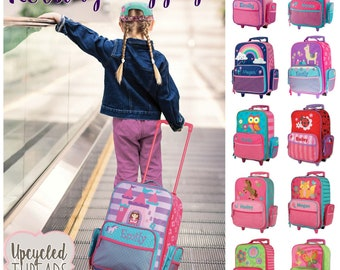 129afe5810 Personalized Rolling Luggage for Girls
