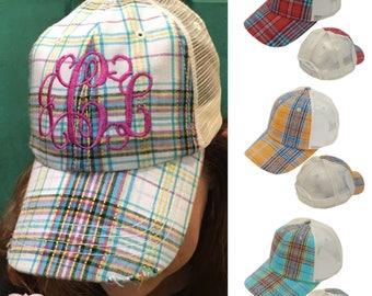 06ffbc1501f Monogram Baseball Hat
