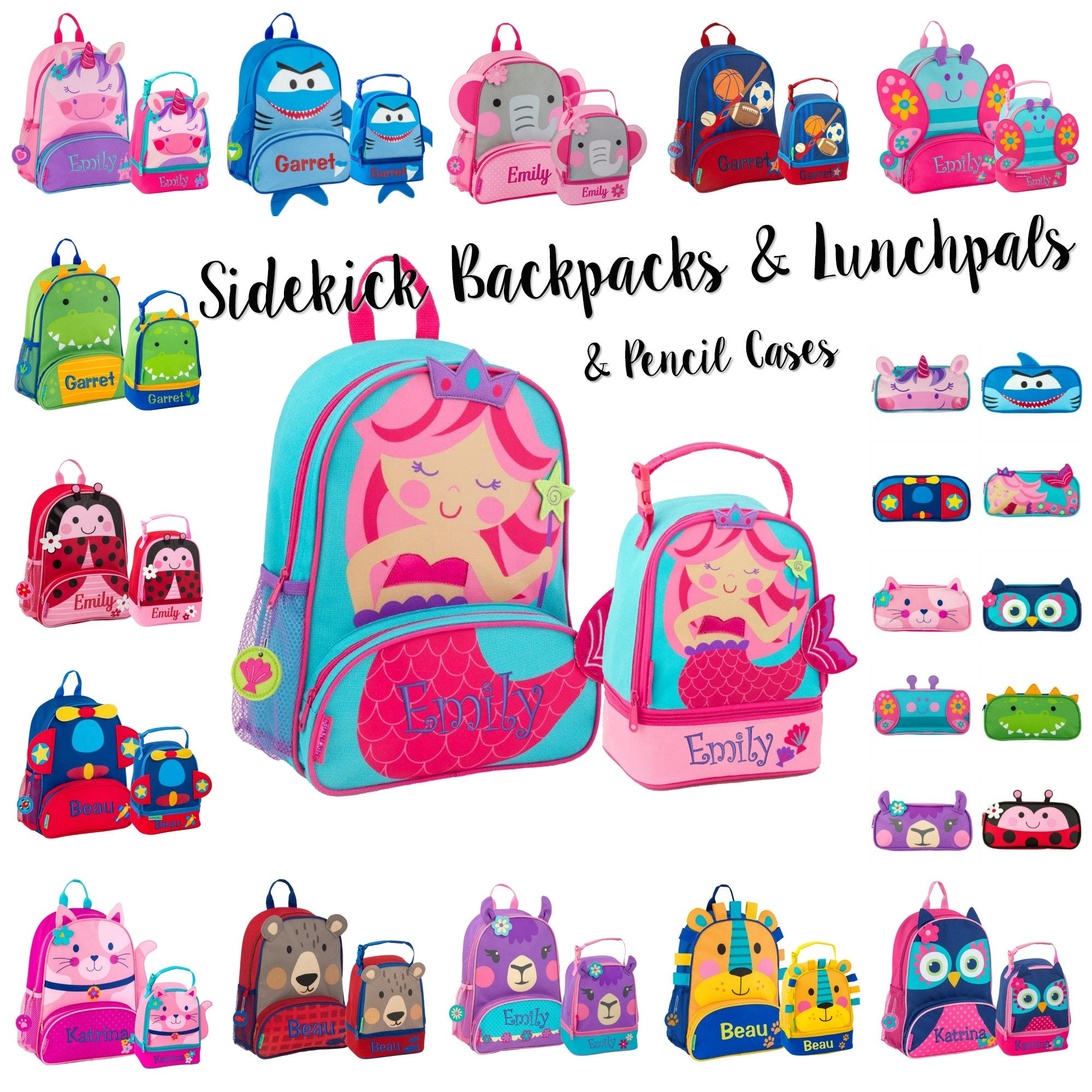 bd928980b3 Personalized Backpack Set