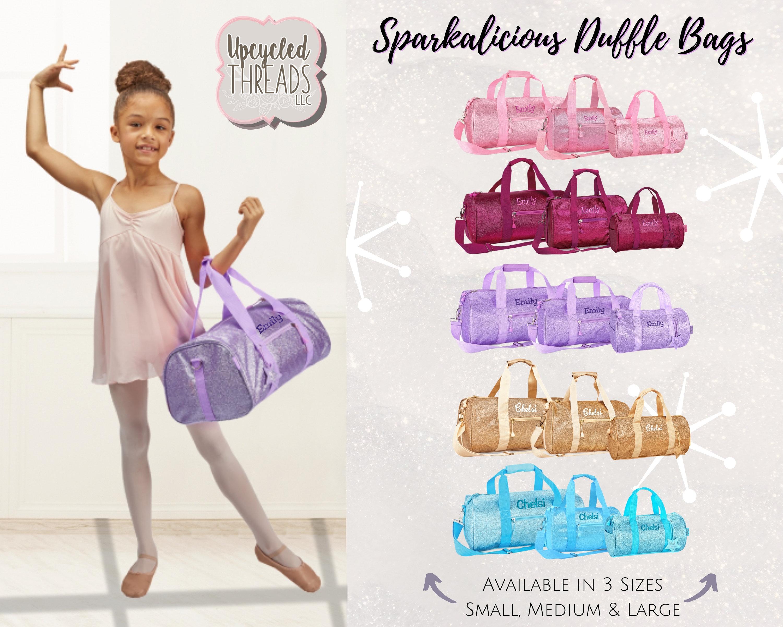 a9ee28a08 Girls Personalized Duffel Bag, Dance Duffle Bag, School Duffle Bag ...