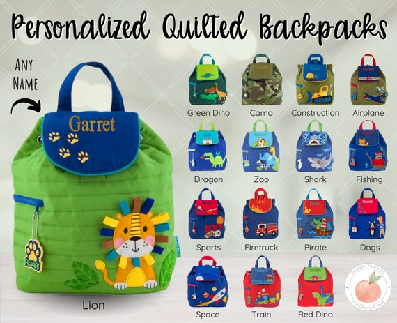 custom made bag whale backpack hand personalized toddler backpack Kids backpack cotton backpack preschool backpack quilted unique