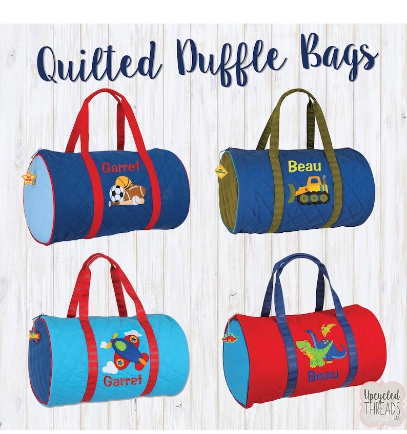 3a32885cab77 Kids Duffle Bag Little Boy Duffle Bag Toddler Travel Bag