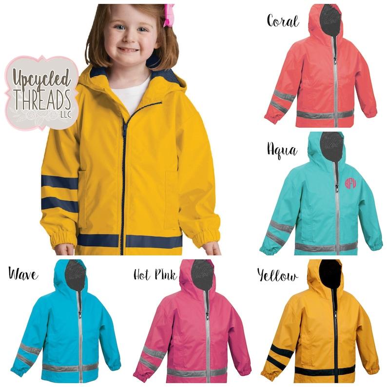 99fa640995c1 Toddler Rain Jacket Toddler Raincoat Personalized Jacket