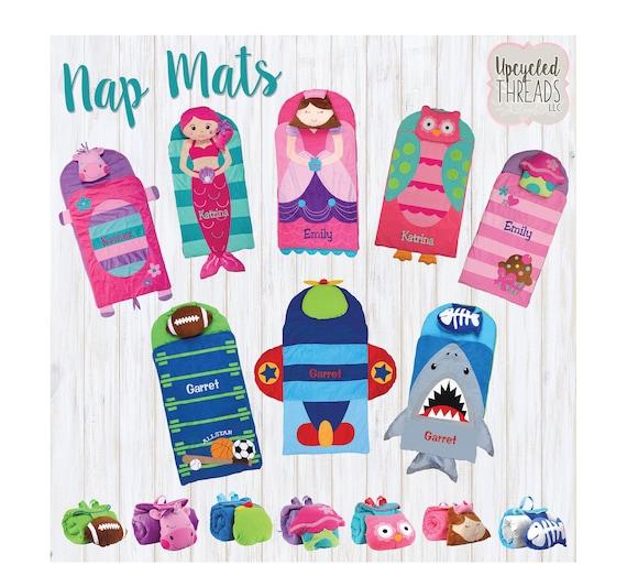 School Nap Mat Nap Mat Stephen Joseph Toddler Blanket Etsy