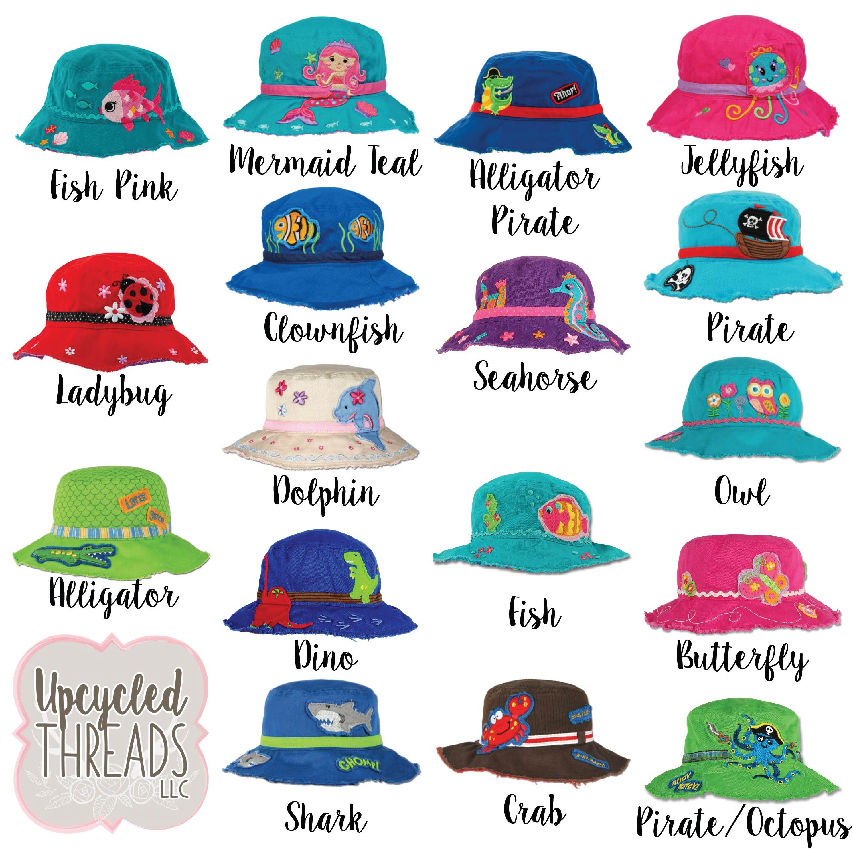 f2441a4963b Personalized Toddler Bucket Hat