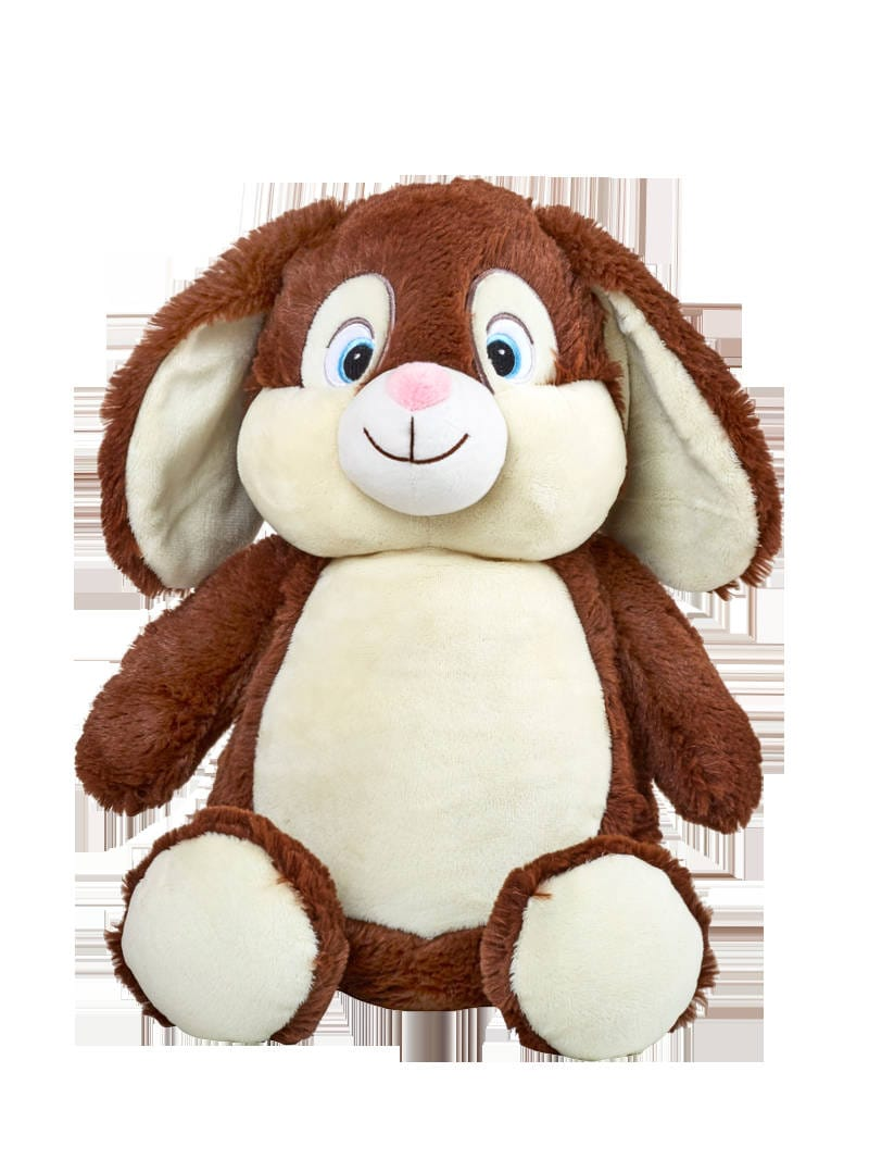 Personalized Baby Gift Bunny Birth Announcement Stuffed Animal