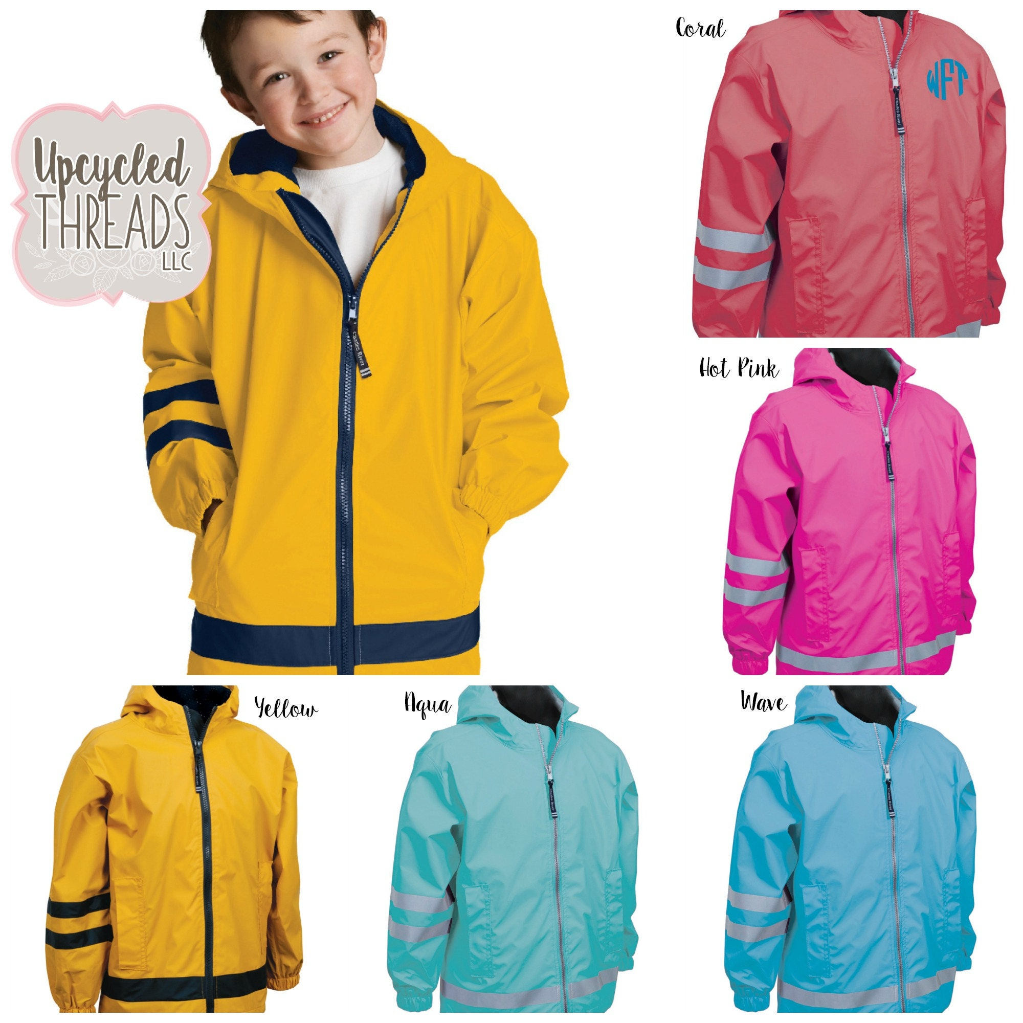 324cb872efef Personalized Rain Jacket
