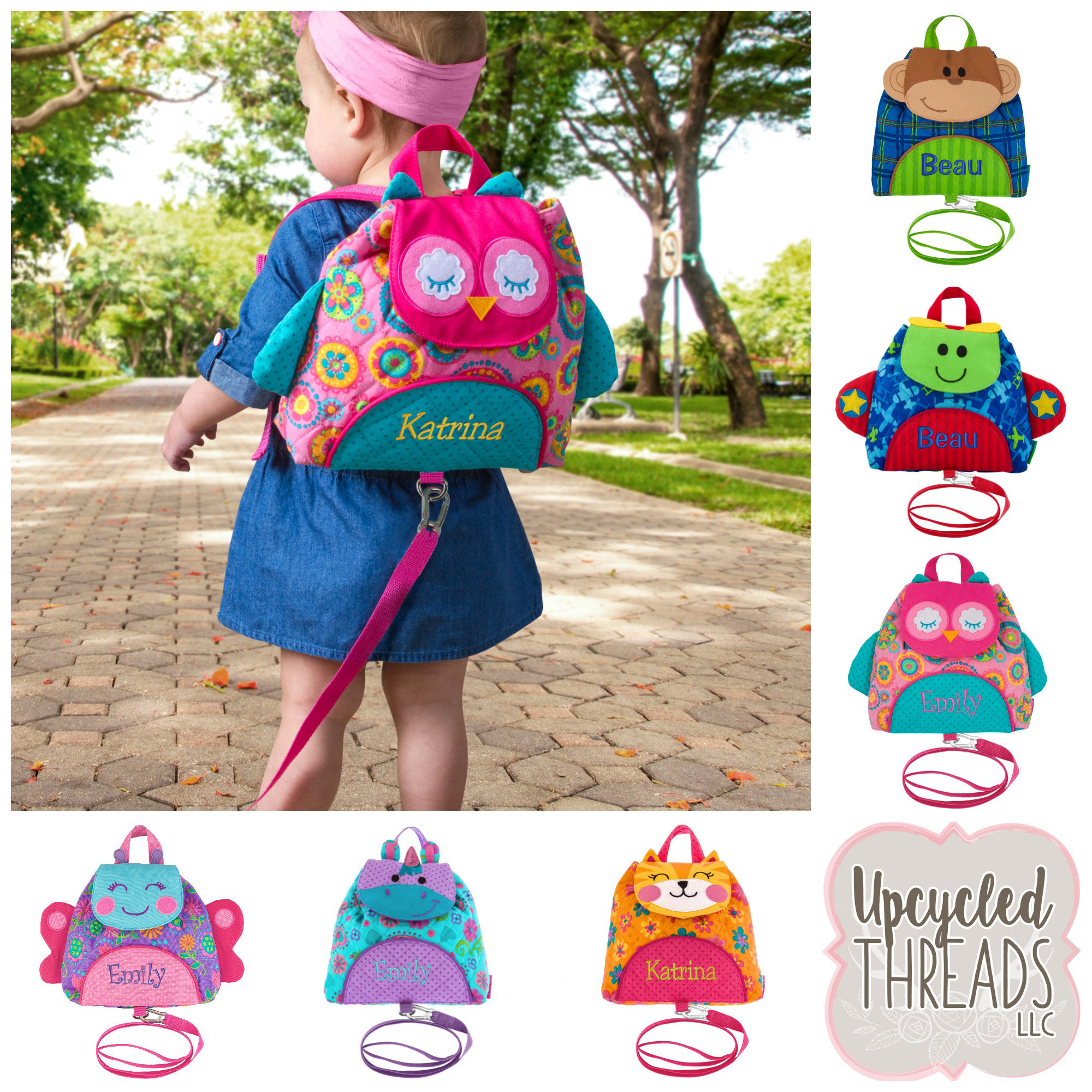 f301bbadb9 Personalized Toddler Backpack