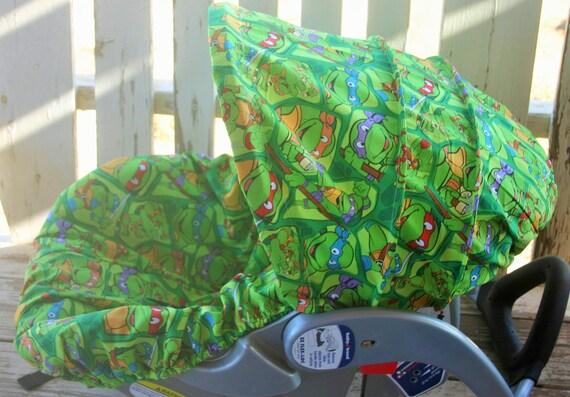 Teenage Mutant Ninja Turtles Infant Car Seat Cover And Hood