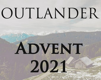 Outlander Inspired Advent/countdown Calendar