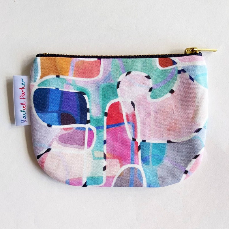 Small Fabric Pouch Paint