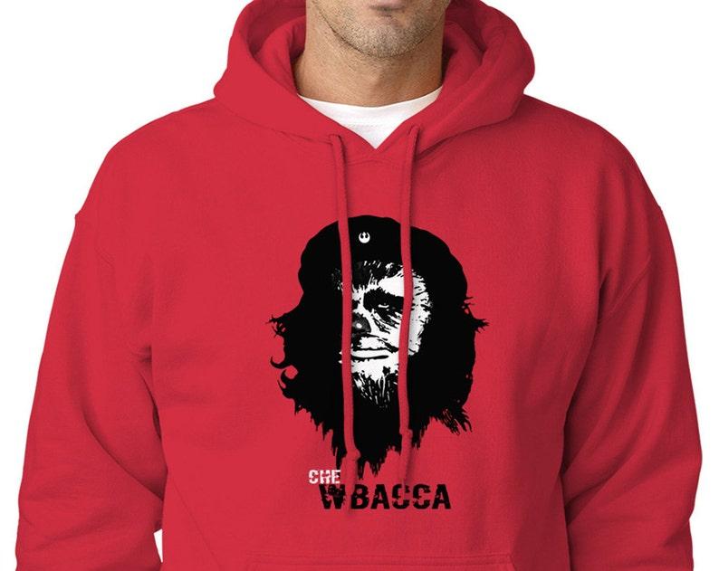 Star Wars CHEWBACCA / Che Guevara Parodie rote Grafik   Etsy