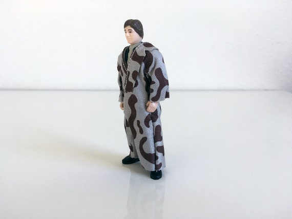 """Vintage 1984 ROTJ Star Wars 4/"""" Han Solo Trench Figure Mint Condition Kenner"""
