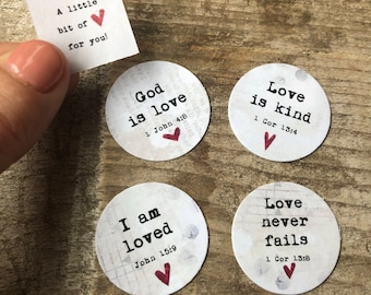 Love promises | Yes & Amen locket promises | Stephanie Ackerman