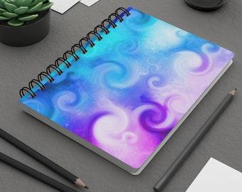 Swirling Clouds Spiral Bound Journal