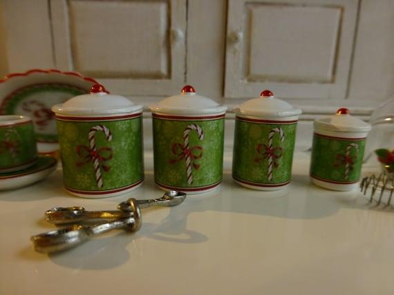 12 Escala de cerámica Pastel Platos Casa de muñecas en miniatura Cocina Alimentos Accesorio Flan 1