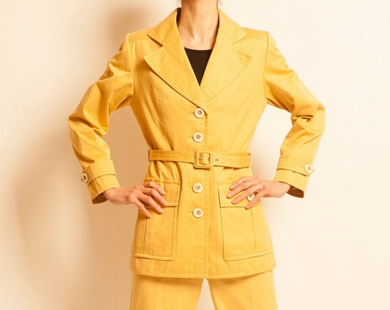 Safari suits Yves Saint Laurent from 1990's