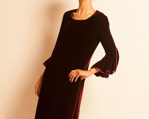 Evening dress PIERRE BALMAIN from 1970's