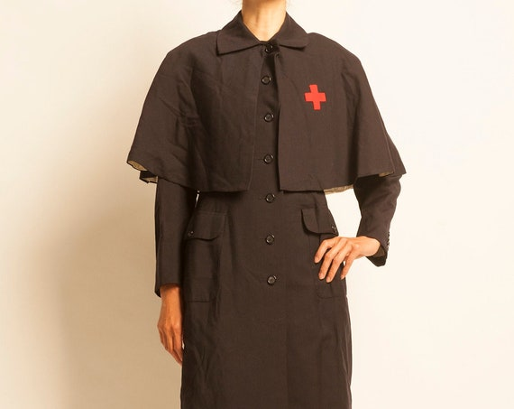 Nurses coat from 1950-60's