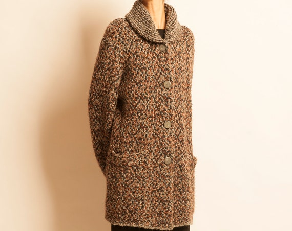 Knit coat MISSONI from 1980's