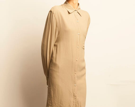 Maison Martin Margiela simple long shirt