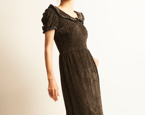 Evening long dress from 1970's