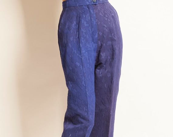 Cropped pants Yves Saint Laurent from 1980's