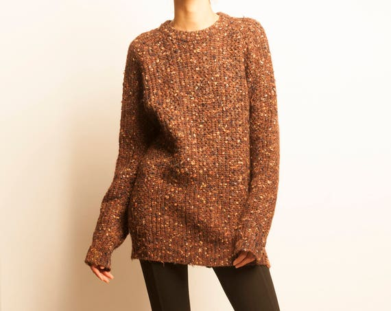 ISSEY MIYAKE early 1980's wool oversized pullover