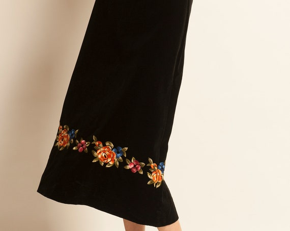 Long pencil skirt CELINE from 1970's
