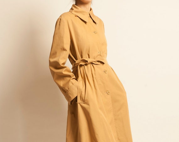 Trench coat Louis Féraud early 1970's