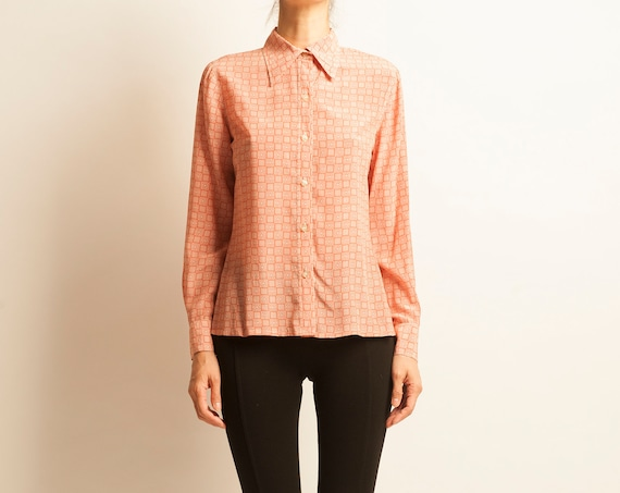 Shirt LANVIN from 1980's geometric motif
