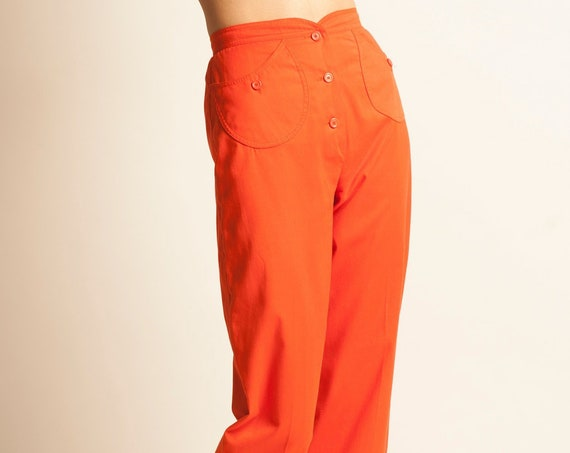 Cropped pants Courreges from 1970's