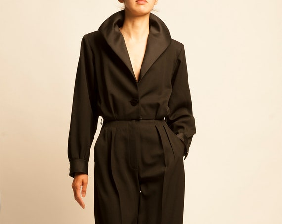 Smoking jumpsuit Yves Saint Laurent from 1993