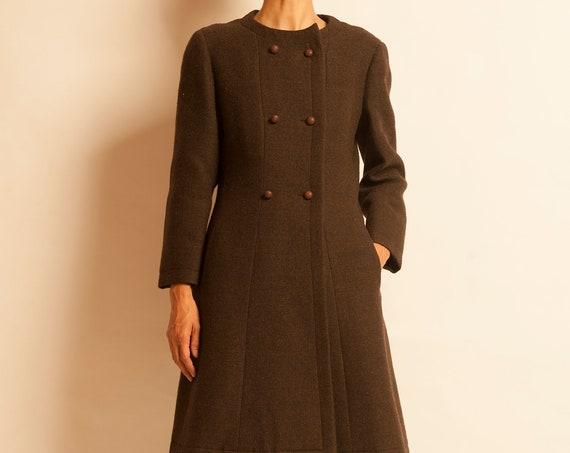 Double breasted coat NINA RICCI from 1960's