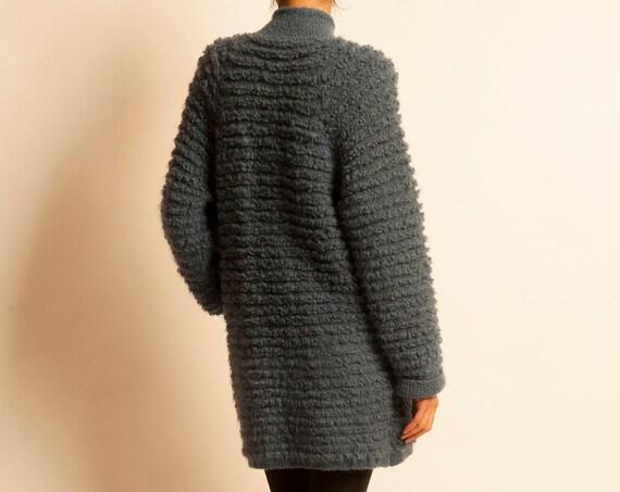 Knit coat SONIA RYKIEL from 1980's