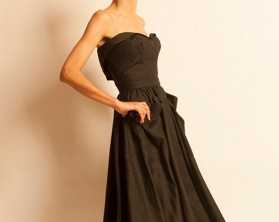 Evening dress Thierry Mugler from 1980's