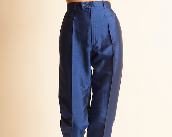 Smoking pants Yves Saint Laurent from 1980's