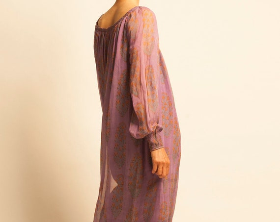 Long smock dress from 1930's