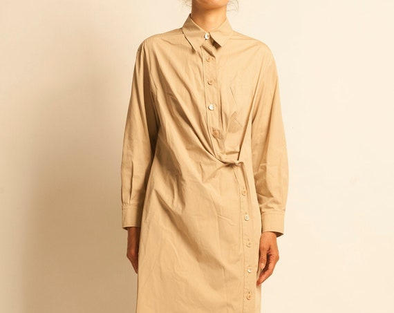 Shirt tunic HERMÈS asymmetry closure