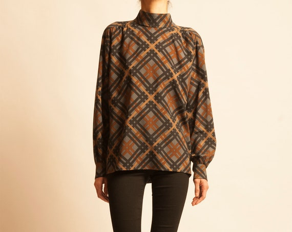 Blouse Yves Saint Laurent from early 1980's